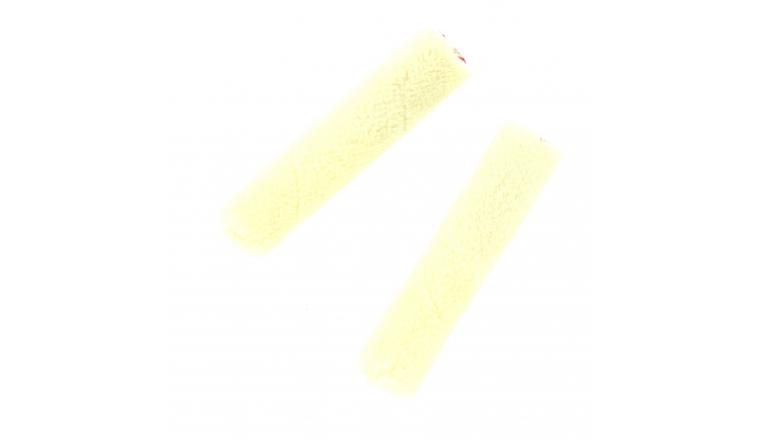 Lot de 2 Recharges Microfibre pour laque 110 mm pour mini Rouleau