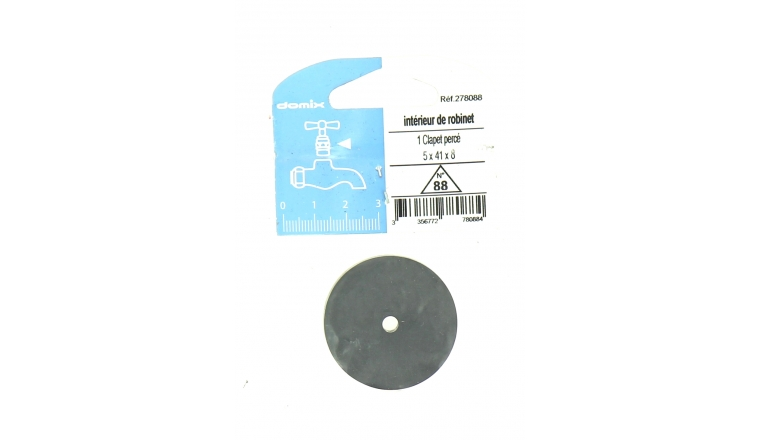 Clapet Percé pour Robinet 5 x 41 x 8 mm