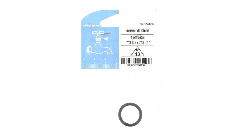 Joint Torique N° 13 pour Robinet - 16.9 x 22.3 x 2.7 mm