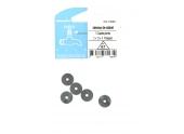 Lot de 5 Clapets Percés pour Robinet Pangaud 3 x 13 x 4 mm