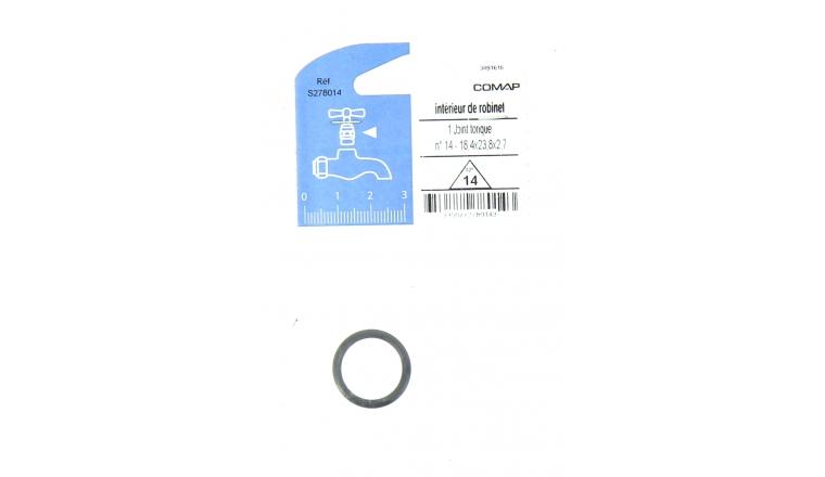 Joint Torique N° 14 pour Robinet - 18.2 x 23.8 x 2.7 mm