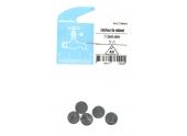 Lot de 5 Clapets Pleins pour Robinet 12 x 5 mm