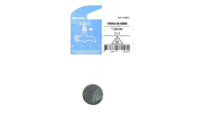 Clapet Plein pour Robinet 23 x 8 mm