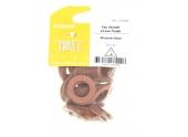 Joint Fibre pour Installation sanitaire 20 x 27 - Lot de 40 - Eau froide et Eau chaude