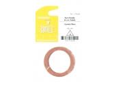 Joint Fibre pour Installation sanitaire 40 x 49 - Lot de 5 - Eau froide et Eau chaude