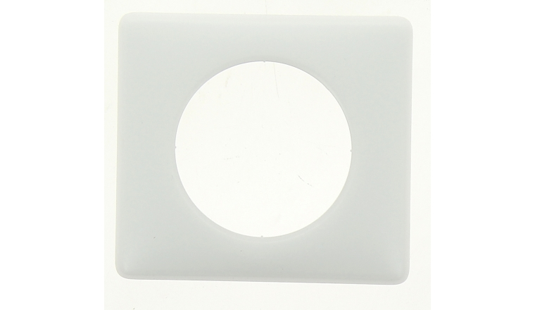Plaque de Finition Simple Blanc Coco - Legrand Céliane 99840