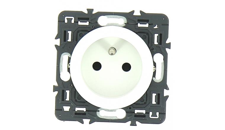 Mécanisme Prise 2P+T Blanc Céliane - Legrand 99701
