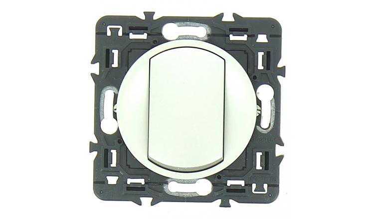 Mécanisme Bouton Poussoir Gris Céliane - Legrand 99780