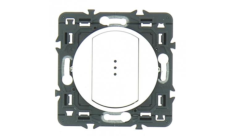 Mécanisme Bouton Poussoir Lumineux Blanc Céliane - Legrand 99732