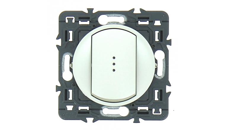 Mécanisme Bouton Poussoir Luminieux Gris Céliane - Legrand 99782