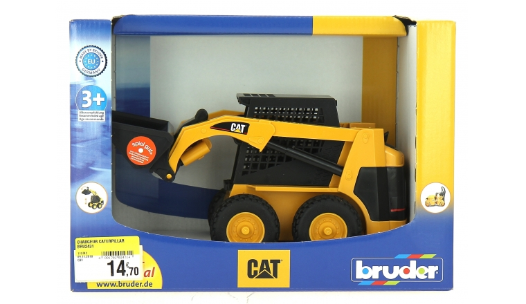 Chargeur Compact CATERPILLAR - Bruder 2431
