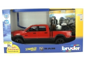 Pick Up  Power Wagon avec moto Ducati et Pilote - Bruder 2502