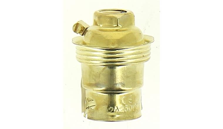 Douille Acier pour Ampoule B22 - Debflex 712010