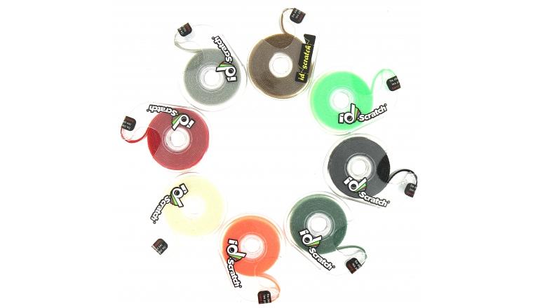Bande Velcro Coloré 2 Mètres - ID Scratch