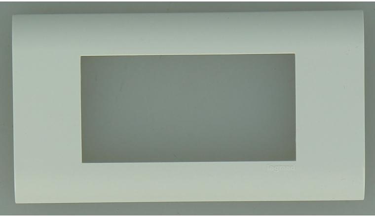 Plaque de Finition Double MOSAIC - Legrand 75010