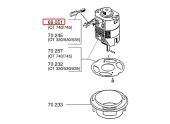 Charbon pour Moteur électrique OT330, OX50, .. - Ref 69051 - Outils Wolf