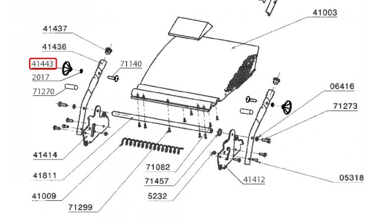Ecrou de serrage de Guidon pour MEB, RM46PE ... - Ref 41443 - Outils Wolf