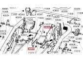 Ressort de Traction Guidon de tondeuse - Ref 40565 - Outils Wolf
