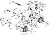 Courroie de traction pour Tondeuse Thermique RM41B, RM41E et RM41PE - Ref 38799 - Outils Wolf