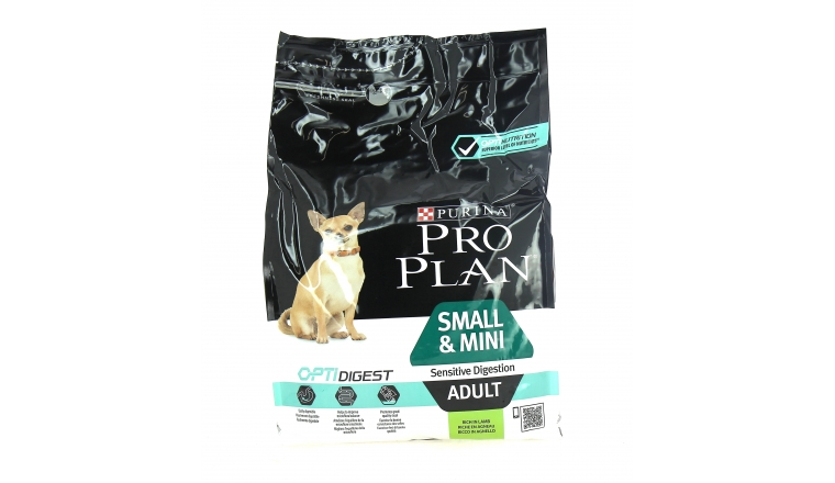 Croquettes Pro Plan Small Mini Adult  Agneau - 3kg - Nestlé Purina