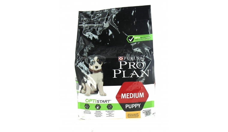 Croquettes chiot Médium Puppy Riches en Poulet Pro Plan - 3kg - Nestle Purina