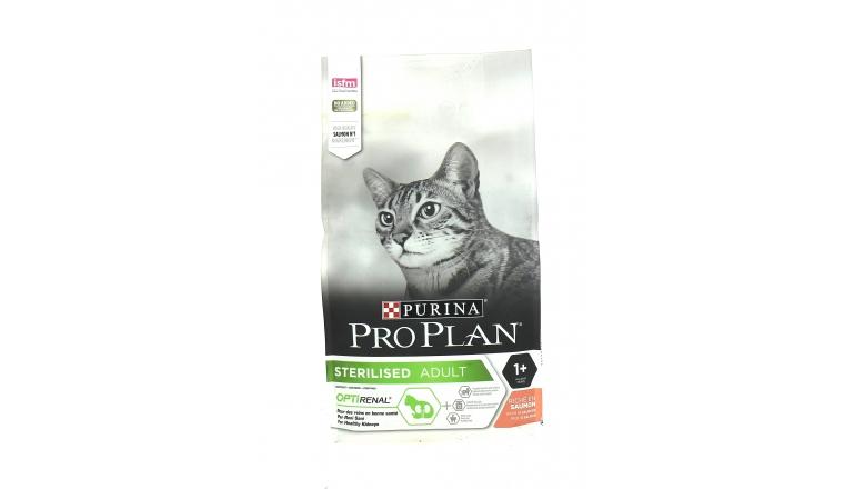 Croquettes Pro Plan Adult Chat Stérilisé au Saumon -1,5kg- Nestle Purina