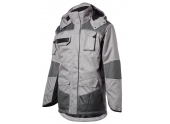 Parka Guillaumet Gris chiné/noir - S à 3XL - North Ways