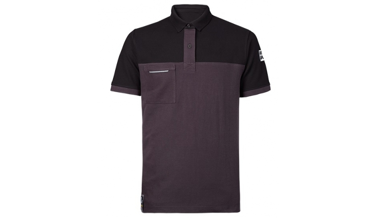 Polo Carson Gris Noir - M à 3XL - North Ways