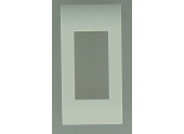 Plaque de Finition 1/2 module Complet MOSAIC - Legrand 75001
