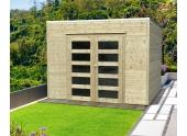Abri de Jardin en Bois BARI Solid 8.01 m² S8741-1