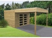 Abri de Jardin en Bois MATERA Solid 8.01 m² S8743-1