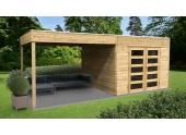Abri de Jardin en Bois TARENTO Solid 8.01 m² S8742-1