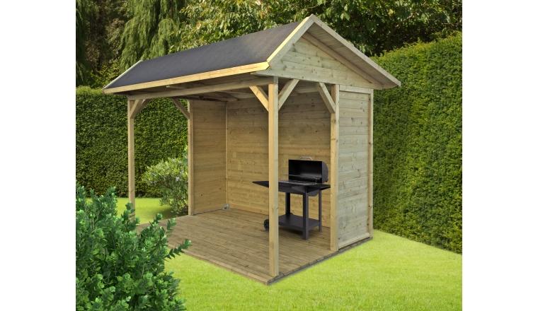 Pavillon en Bois RONSBURG Solid 5.32 m² S709