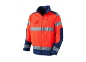 Blouson Luk Light Orange Fluo/Marine HV CL2 - Taille L – Molinel