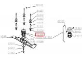 Accouplement pour Tondeuse Thermique 41 cm - Ref 22466 - Outils Wolf