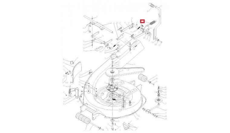 Rotule de Direction pour Autoportée A80 Wolf - Ref 28047 - Outils Wolf