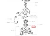 Jeu de 2 garnitures de freins pour Moteur de tondeuse - Ref 20767 - Outils Wolf