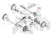 Boitier de traction Tondeuse NTB, NTBF et NTE - Ref 41120 - Outils Wolf