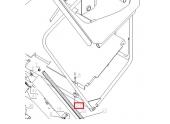 Agrafe de fixation autoportée A80, A85 et A100 - Ref 25886 - Outils Wolf