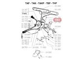 Bouton de manoeuvre Tondeuse Themique - Ref 24700 - Outils Wolf