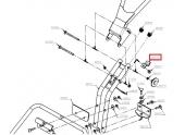 Crochet de panier pour Tondeuse T51, TAH, TAHF et TAI - Ref 42010 - Outils Wolf
