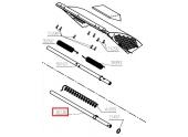 Axe déflecteur Tondeuse RM46B et RM46BF - Ref 36736 - Outils Wolf