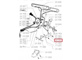 Secteur crantée pour Tondeuse Thermique - Ref 24701 - Outils Wolf