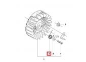 Ressort de volant Magnétique Tronçonneuse 351, 55, 346 XP ... - Ref 503 78 32-01 - Husqvarna