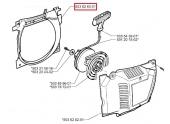 Déflecteur d\'air pour Tronçonneuse 362 XP, CS2171, CS2166 ... - Ref 603 62 83-01 - Husqvarna