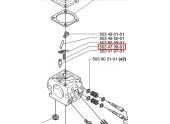 Ressort de soupape Carburateur pour 55, GR41 ... - Ref 503 47 99-01 - Husqvarna