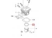 Segment de Piston pour CS2163, CS2171, 371 ... - Ref 503 28 90-36 - Husqvarna