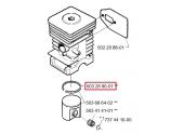 Segment de piston pour Débroussailleuse GR36, BP40 ... - ref 503 28 90-01 - Husqvarna
