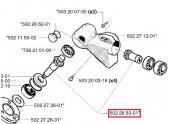 Engrenage pour Tête de Débroussailleuse 250 R, 252 RX, RS51 ... - Ref 502 28 63-01 - Husqvarna