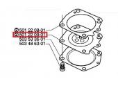 Membrane de Carburateur 395, 385, 272 XP ... - ref 501 22 09-01-Husqvarna